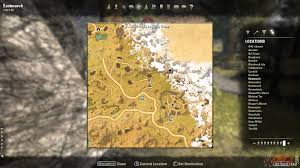 eastmarch ce treasure map eastmarch treasure map vi location the elder scrolls