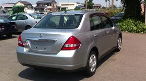 nissan tiida black nissan tiida latio saloon type sold to kenya youtube