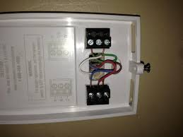 no c wire terminal on new honeywell thermostat what to do