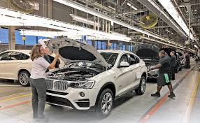 bmw car plant bmw s uses spartanburg to for free trade