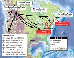 map of canada east coast neb canada s pipeline transportation system 2016 canada s