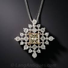 color diamond necklace images 1 01 carat fancy color princess cut diamond pendant necklace jpg