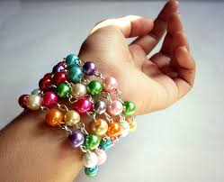 rosary bead bracelet diy rosary beaded bracelet