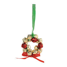 metal jingle bell wreath ornament craft kit orientaltrading com