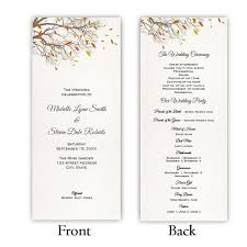easy wedding program template 52 best wedding program templates diy images on