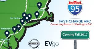nissan leaf charging options nissan and evgo to build ev fast charging corridor on the east