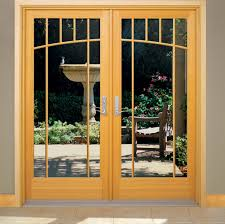 Narrow Exterior French Doors by Luxury Modern White Color French Doors Interior Design Ideas