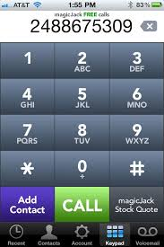 magicjack app android magicjack app brings totally free calling to ios cnet
