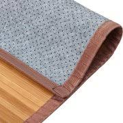 Bamboo Area Rugs Venice Natural Bamboo 5 U0027 X 8 U0027 Floor Mat Bamboo Area Rug Indoor