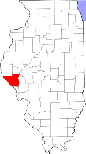 Map Of Illinois State by File Map Of Illinois Highlighting Pike County Svg Wikimedia Commons