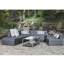 Modern Wicker Patio Furniture - black wicker sectional patio furniture wicker sectional patio