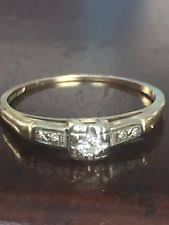 art deco diamond ring ebay