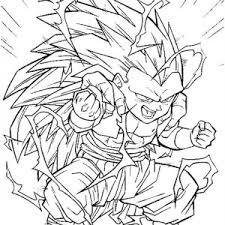 ball z coloring pages super saiyan 4