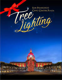 sf christmas tree lighting 2017 san francisco civic center tree lighting dec 5th tenderloin