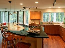 L Shaped Kitchen Islands With Seating 42 Best Curved Designs Images On Pinterest Dream Kitchens
