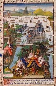 siege of lille figure 1 2 le siège de constantinople en 1453 miniature réalisée