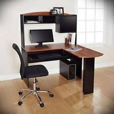 Corner Pc Desk Mainstays Computer Desks Ebay