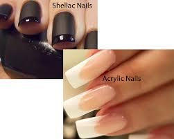 shellac nails vs acrylic nails ilookwar com
