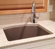 faucet for sink in kitchen single faucet placement for undermount sinks kitchen pictures