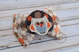 thanksgiving tie turkey bow tie and suspenders fall argyle owl turkey bow tie