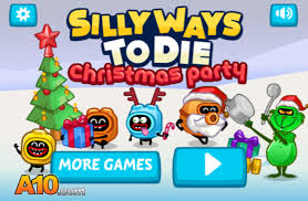 play silly ways to die christmas party free online games