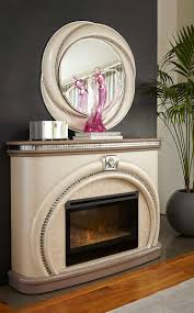 Michael Amini Fireplace Overture Catrina U0027s Interiors Furniture Store And Interior