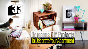 Decorating Ideas For Apartment Living Rooms 33 Diy Apartment Decor Ideas Youtube