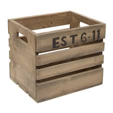 small pine recycled wood crate for 16 00 fabfind 16 tkmax