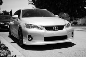 lexus ct200 white toms kit or look a like