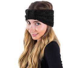 headband wrap winter headband for women knit headband winter wrap by