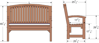 Wooden Bench Plan Outdoor Wooden Bench Plans To Build Easy Picnic Tables Plans