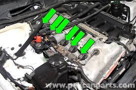 bmw e90 spark plug and coil replacement e91 e92 e93 pelican