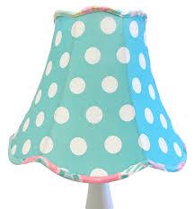 aqua nursery lamp polka dot nursery lamp aqua lamp for nursery