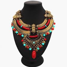 colour beads necklace images African gold jewelry sets colour beads necklace high quality bead jpg