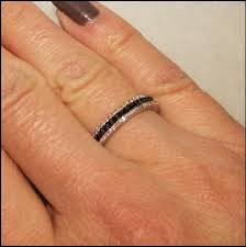 Black Diamond Wedding Ring Sets by Best 25 Black Diamond Wedding Rings Ideas On Pinterest Black