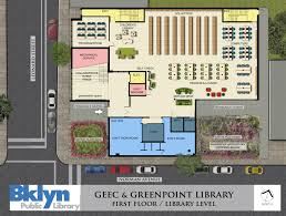 Public Library Floor Plan by Closing Bell Greenpoint Library Gets 5 Million Grant To Build