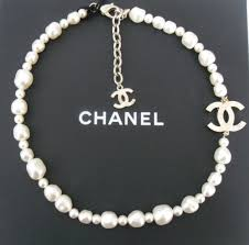 short chain pearl necklace images Splendid design inspiration chanel necklace pearl chanel classic jpg
