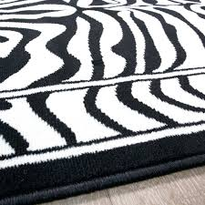 Chevron Runner Rug Black And White Chevron Rug Black White Zebra Animal Runner Rug