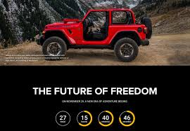lowered 4 door jeep wrangler jeep com teases jl launch with videos 2018 jeep wrangler forums