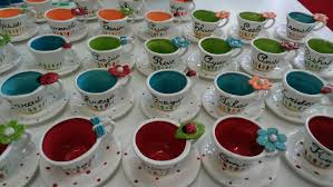 tea cup favors tea cups party favors home party ideas