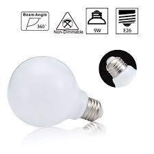 Vanity Bulbs Led Led Globe Bulbs 9watt 60w Equivalent Vanity Globe Light Bulb