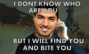 Suarez Bite Meme - i kinda feel bad for posting these but they re so funny soccer