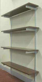 decor shelving systems wall mounted rakks shelving brackets