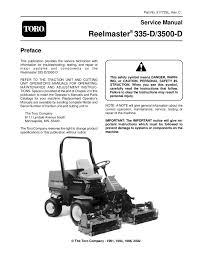 91772sl pdf reelmaster 335 d 3500 d rev c 2002 by negimachi