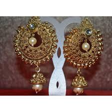 stunning golden earrings