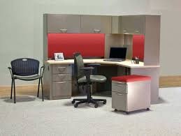 Computer Desk Organization Ideas Office Design Desk W File Cabinets Love How This Clutter Free