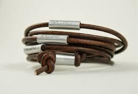 Customized Engraved Bracelets Engraved Leather Bracelets The Wonderful Leather Bracelets