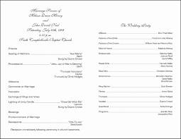 wording for wedding programs wedding marvelous wedding program exles image ideas wedding