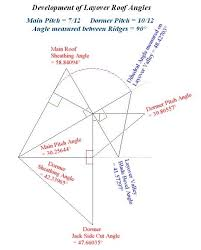 developments of valley rafter angles