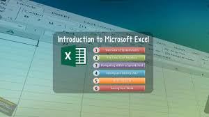 Features Of Spreadsheets Excel Lesson 00 Introduction To Microsoft Excel Youtube